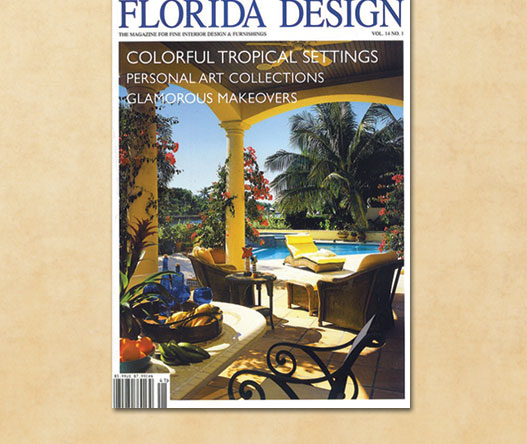 featured in florida design magazine