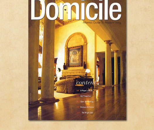 Domicile Magazine feature